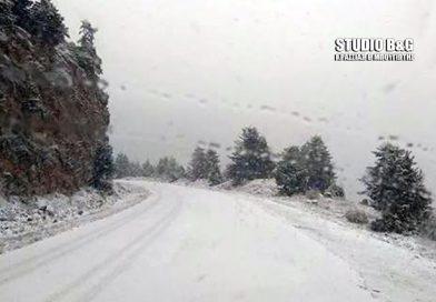 Έκλεισε από τα χιόνια ο δρόμος Νεμέας – Λεβιδίου