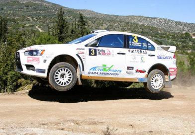 Στο νήμα ο νικητής του 38oυ Rally Sprint Κορίνθου