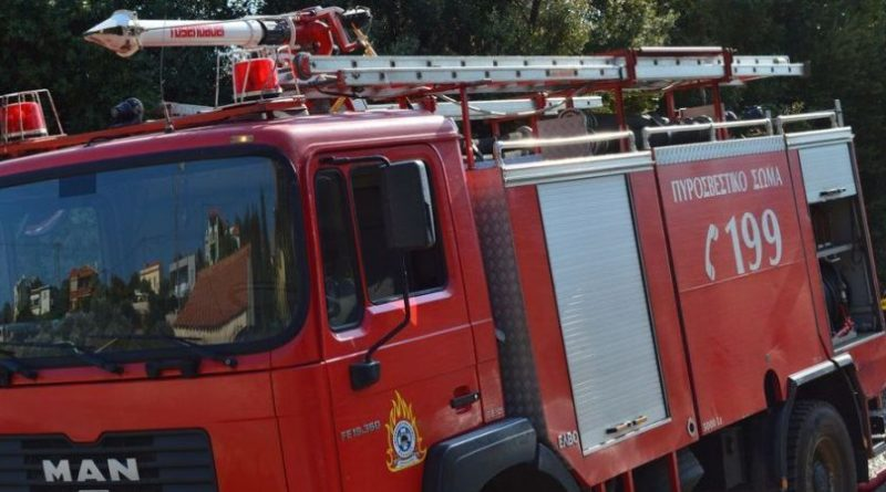 Πυρκαγιά σε Νέα Μανωλάδα και Μεγαλόπολη