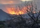 Μοναδικό ηλιοβασίλεμα στη Νεμέα -ΦΩΤΟ