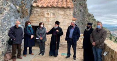 Συνάντηση του Σεβ. Μητροπολίτη μας με φορείς για την πλήρη Αποκατάσταση της Ιστορικής Ι. Μονής Βράχου Νεμέας