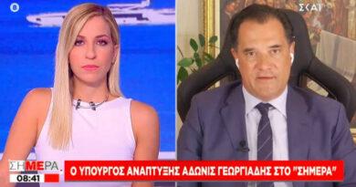 Γεωργιάδης: Ανοιχτό ενδεχόμενο απαγόρευσης εισόδου ανεμβολίαστων σε λιανεμπόριο