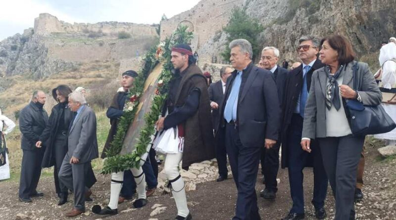 Εκδήλωση στην Αρχαία Κόρινθο για την απελευθέρωση του κάστρου -VIDEO